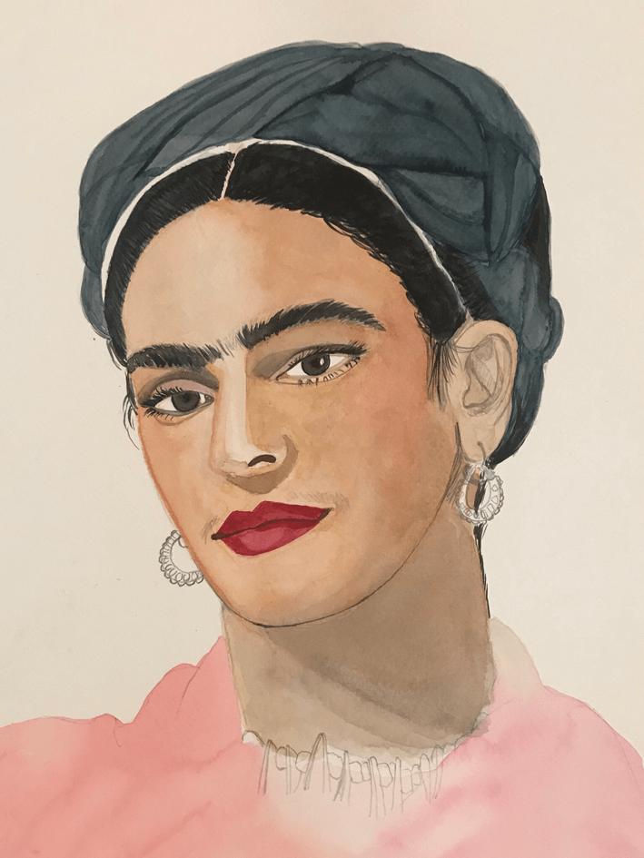 Ilustración, Frida Kahlo