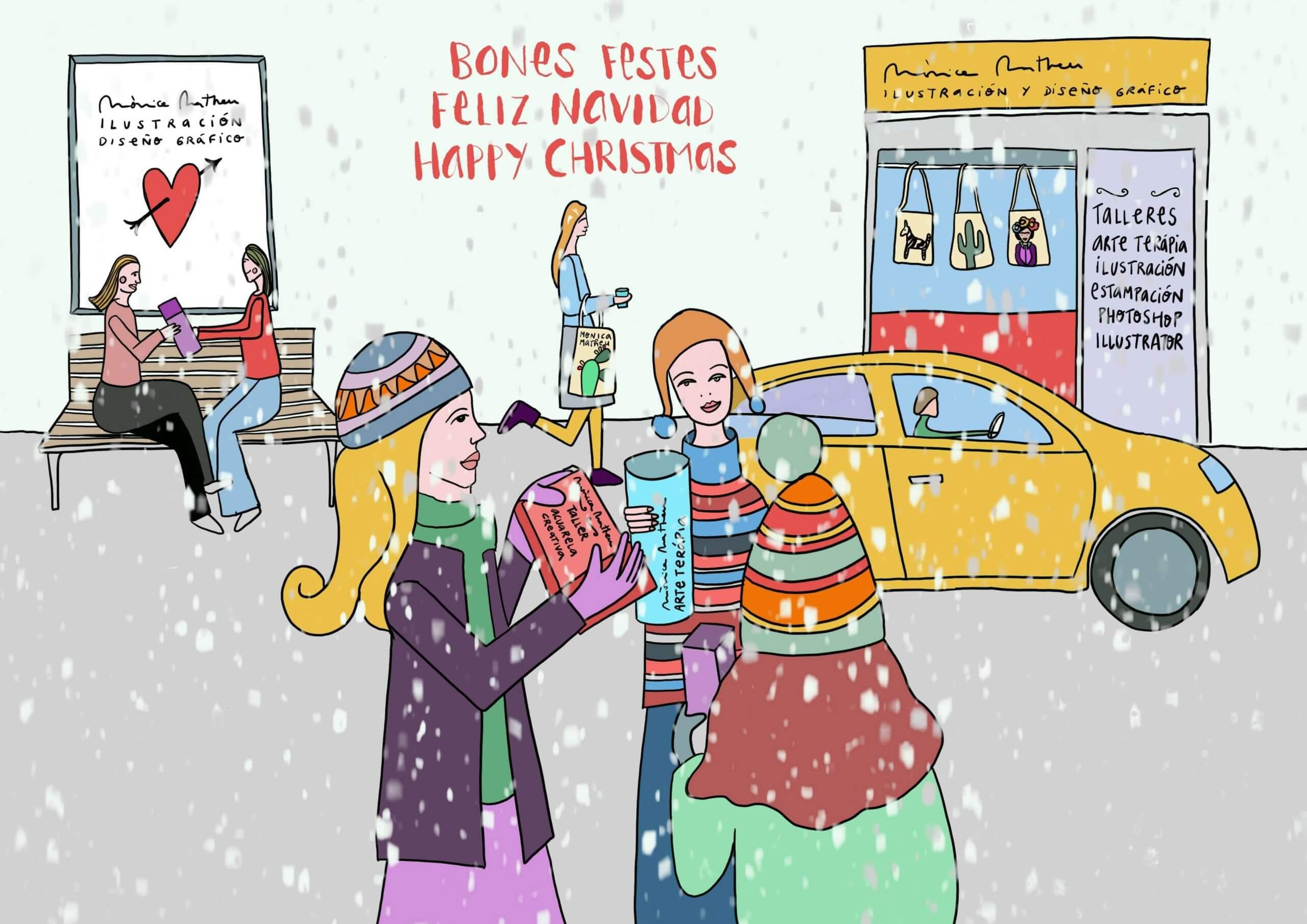 La Navidad ilustrada